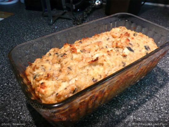 I ended up with a fairly good tasting salmon loaf, but had to make some adjustments to the recipe.