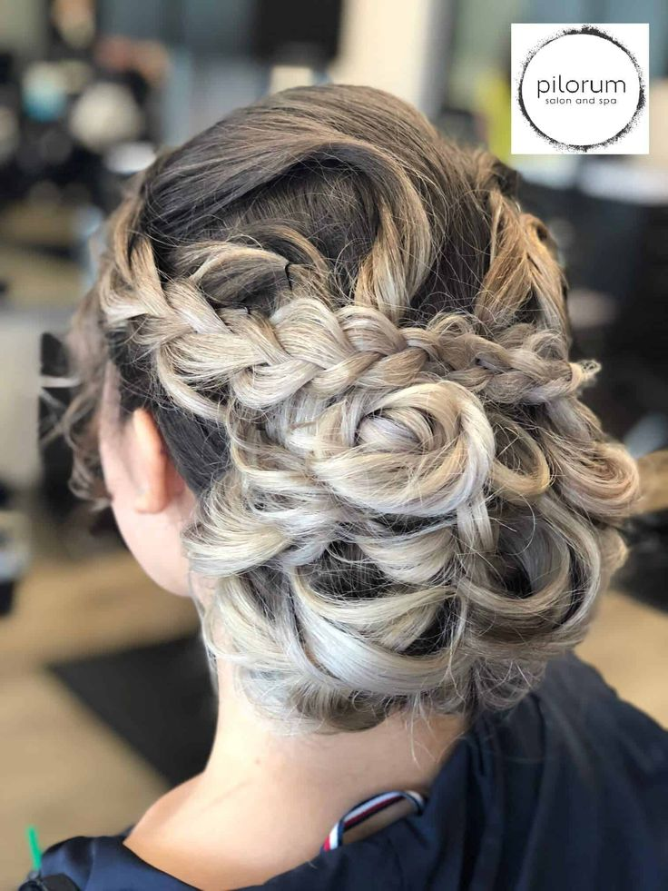 Updo And Formal Hairstyles  Pilorum Salon And Spa