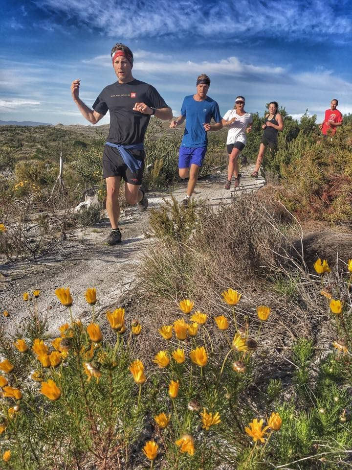 Trail running in Elgin - SA adventure summit. Pic by Lee from Tugela Falls.