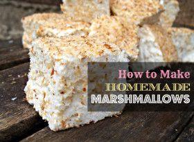 Homemade Marshmallow Recipe {GAPS, Paleo, SCD}   The Mommypotamus   organic SAHM sharing her family stories and recipes