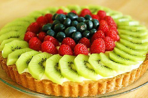 Fruit Tart with Vanilla Pastry Cream