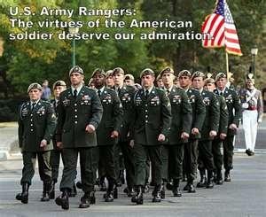 Army Rangers. RLTW! I <3 my Ranger