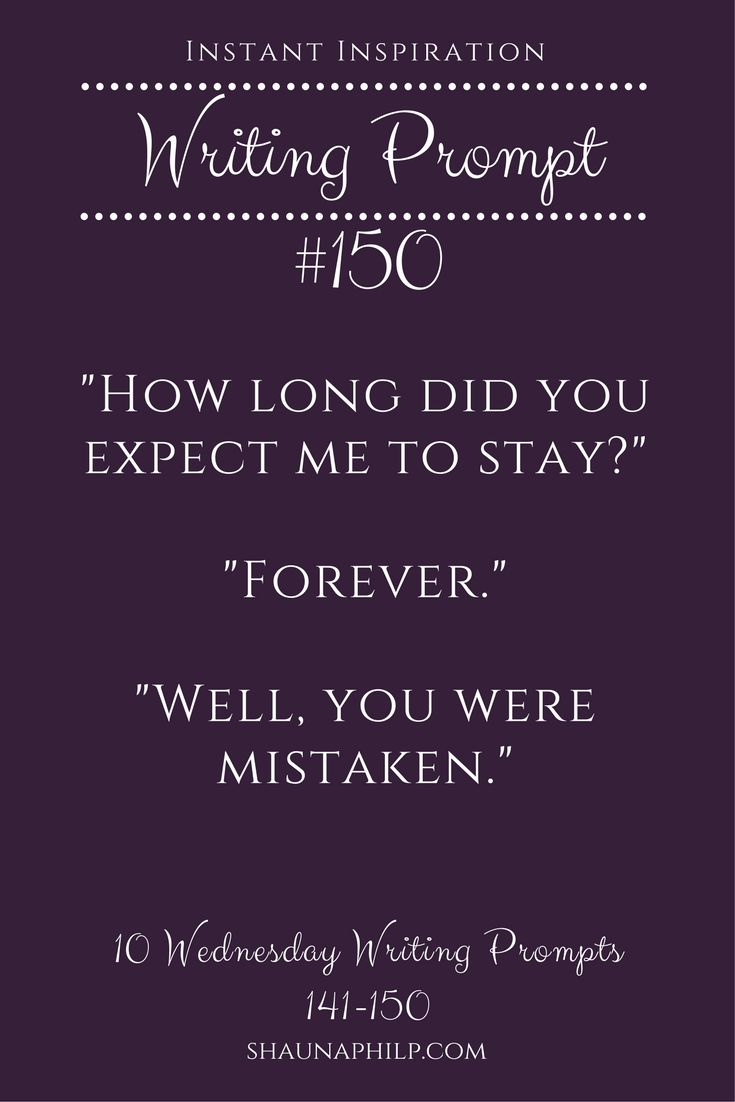Check out my boards for more writing prompts!