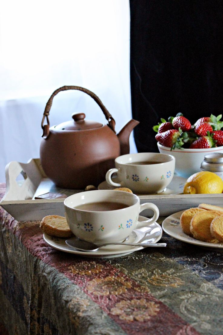 La hora del té :: Čas na horký čaj