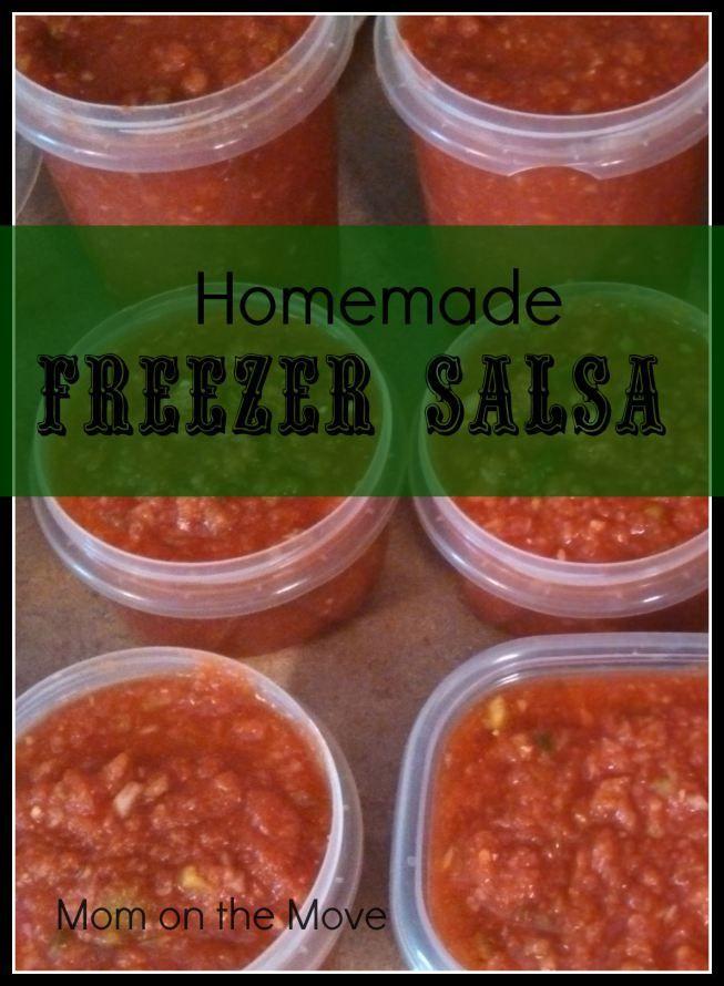 Homemade Freezer Salsa