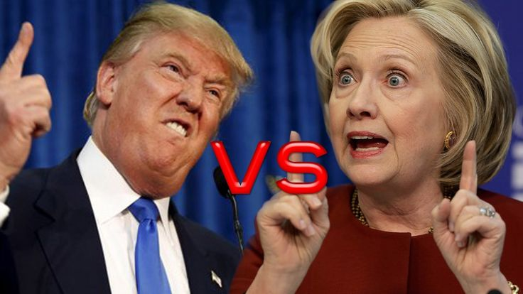 ® HILLARY vs TRUMP►Epic Battle :):)