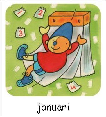 Januari | Pompom maanden