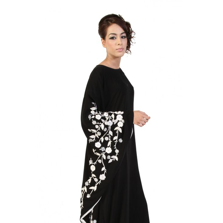 blossom single sleeved butterfly abaya | Akhawat London