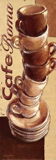 Cafe Roma by Bjorn Baar art print - Nice! | UtopianCoffee.com