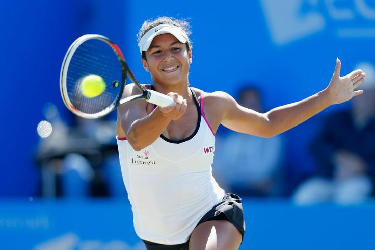6/19/14 Heather Into Aegon Internat'l SFs.  Wild Card Heather Watson advanced to the SFs of her home tournament w/ an injury walkover from the #2-Seed Petra Kvitova. Heather ended a 32 yr drought of brits in the SFs. The last Briton who reached the #Finalfour of the pre-Wimbledon tournament was Jo Durie in 1982. Jo lost that SFs to Martina Navratilova.
