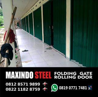 DAFTAR HARGA FOLDING GATE  DAN ROLLING DOOR MURAH JAKARTA TERBARU TAHUN 2017