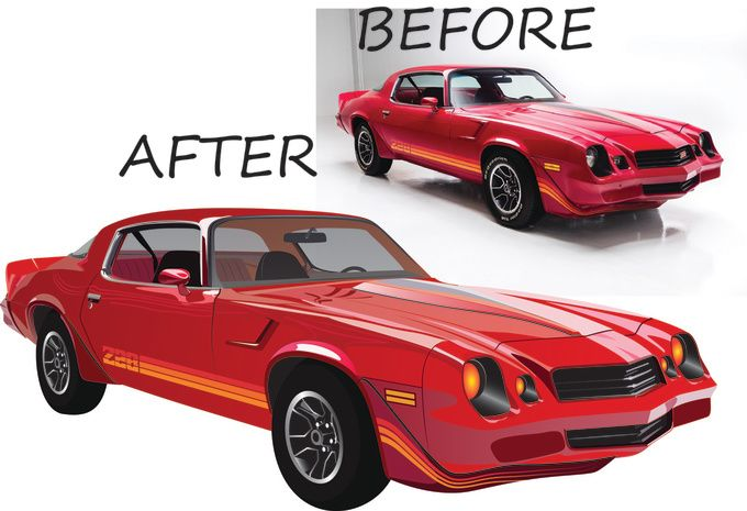 convert your image into vector by waseim