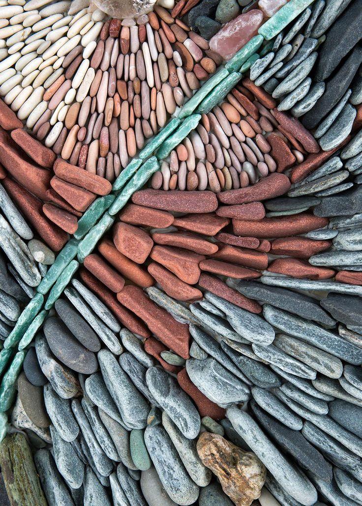 Stone Art :: Mosaic :: Les murs en mosaïques de pierres de Andreas Kunert et Naomi Zettl