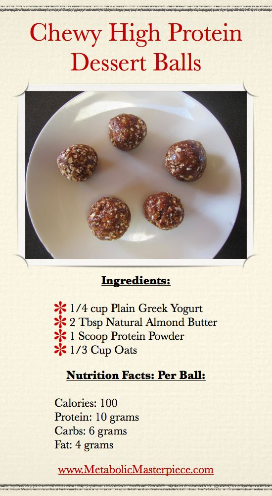 High Protein Snack Protein Fitness Stuff Pinterest