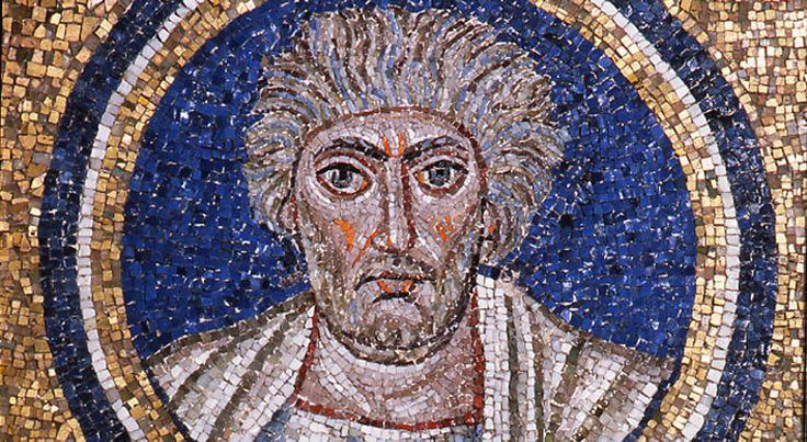 Cappella del Palazzo Arcivescovile, Ravenna. Mosaici della fine del V - inizio del VI secolo. Periodo teodoriciano, SANT'ANDREA