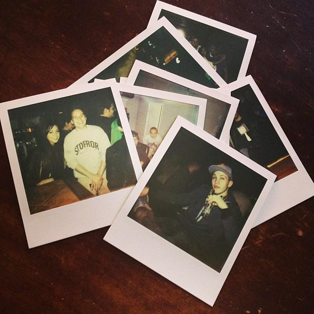 polaroids of Pro Take Over