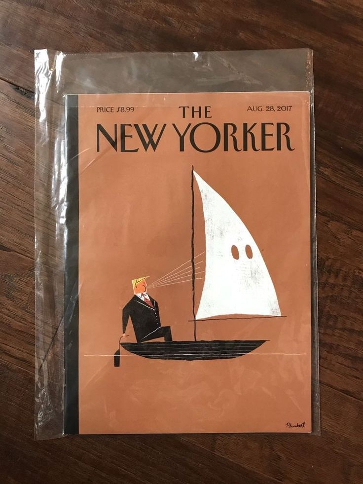THE NEW YORKER MAGAZINE AUGUST 28 2017 NO LABEL DONALD TRUMP BLOWHARD