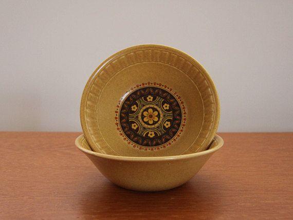 English Ironstone Sante Fe Bowls