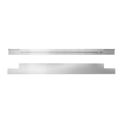 125 best hardware images on pinterest cabinet hardware for Brushed aluminum kitchen cabinets