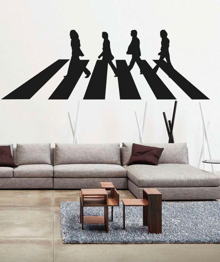 The Beatles - Road - Vinilo Adhesivo, decoración de paredes. $107.800 COP (Envío gratis). Encuentra más vinilos adhesivos en www.giferent.com/vinilos-decorativos-adhesivos