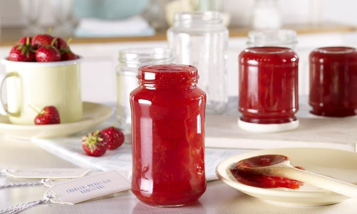 Erdbeer-Maracuja-Konfitüre Rezept | Dr. Oetker