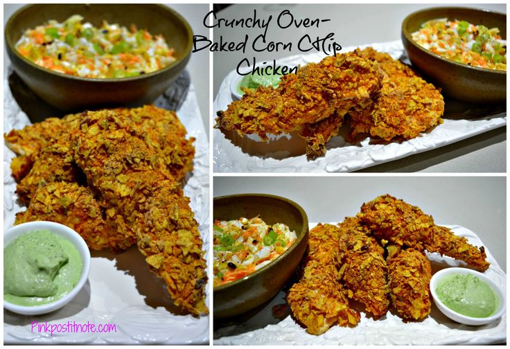Crunchy Oven-Baked Chicken