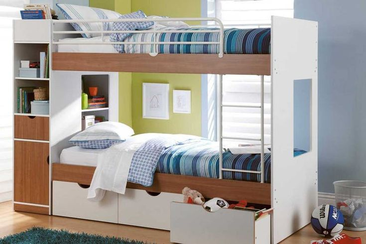 Olympus Single Bunk Bed Frame by John Young Furniture | Harvey Norman New Zealand