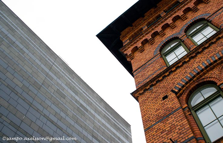 Old and new buildings in Stockholm, Sweden.Photo: Sampo Axelsson.  #stockholm #sweden #architecture #buildings #photography #sampo