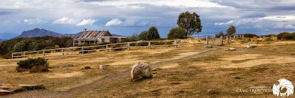Compliment of Craig Francisco - Google+ Craig's Hut, on the Stirling range. Featured in the Australian film, man from Snowy River. Click on the picture to view more of Craig's beautiful photography.