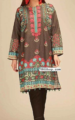 6dc4c136c0 Brown Poly Viscose Suit (2 Pcs) | Buy Khaadi Pakistani Dresses and Clothing  online in USA, UK