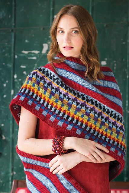 63 best poncho images on Pinterest | Knit stitches, Bookcases and ...