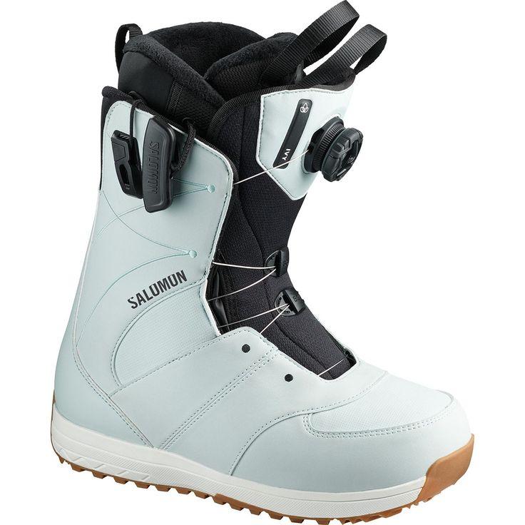 Salomon Ivy Boa Snowboard Boot Women S Boots Snowboard Women