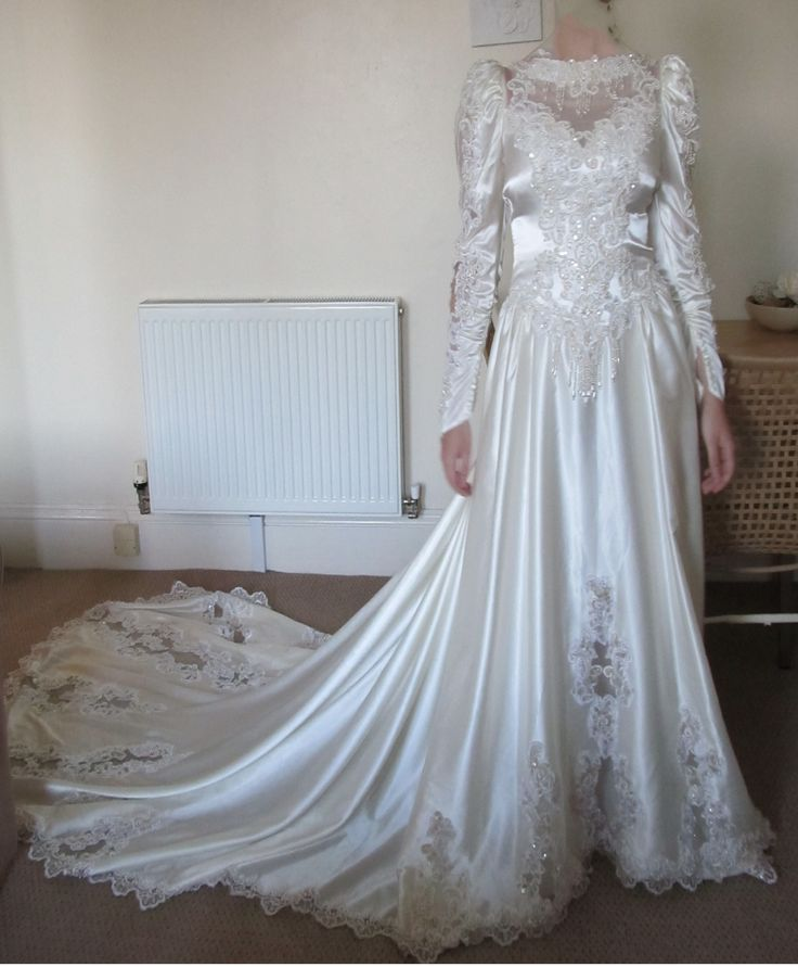1980s+ball+gown | My Big Fat 1980s Wedding Dress/ Masquerade Ball Gown