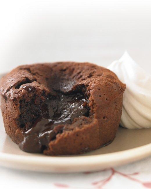 Ghirardelli® Individual Chocolate Lava Cakes Recipe