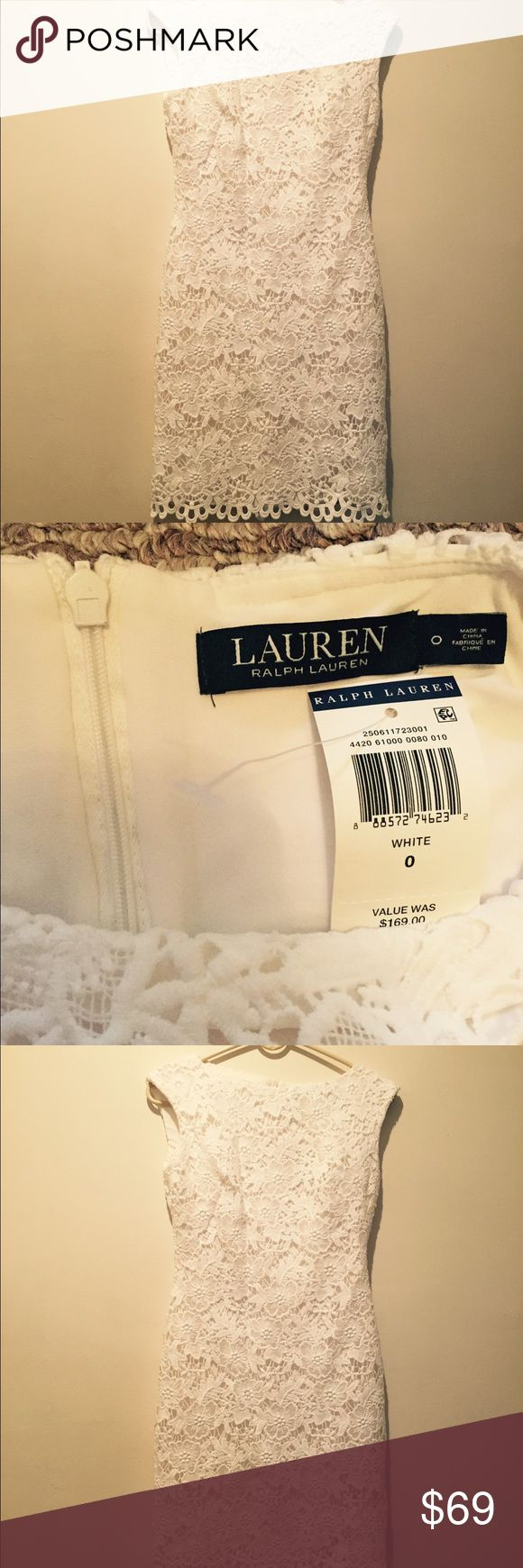 Ralp Lauren dress Beautiful lace midi dress .New with tag Ralph Lauren Dresses Midi