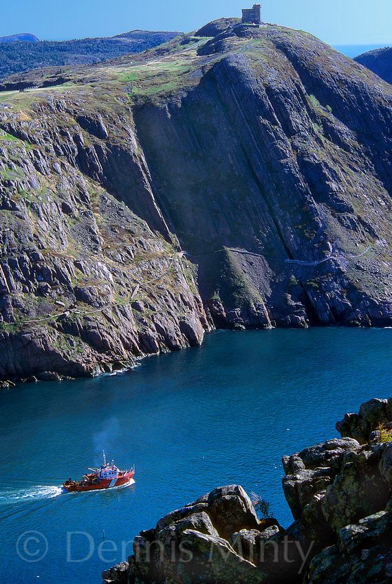 Through the Narrows, St. John's, Newfoundland, Canada