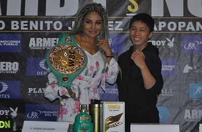 Este sábado en Zapopan, Jalisco, la Campeona Gallo del Consejo Mundial de Boxeo Mariana 'Barbie' Juárez 'expondrá su título ante la japonesa Terumi Nuki...