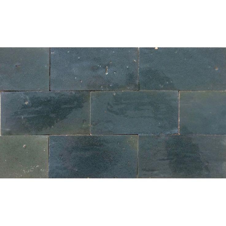Zellige Tile Anthracite 15cm x 7.5cm