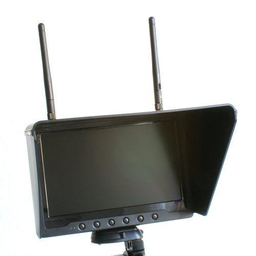 """Sale Preis: 7"""" FPV Monitor - Black Pearl - inkl. 21CH 5,8Ghz Diversity Empfänger inkl. Akku und Ladegerät N-FACTORY-DE. Gutscheine & Coole Geschenke für Frauen, Männer und Freunde. Kaufen bei http://coolegeschenkideen.de/7-fpv-monitor-black-pearl-inkl-21ch-58ghz-diversity-empfaenger-inkl-akku-und-ladegeraet-n-factory-de"""