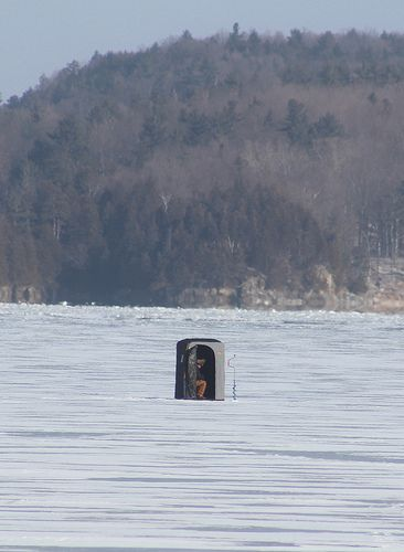 13 best images about ice fishing on pinterest for Ice fishing shanty