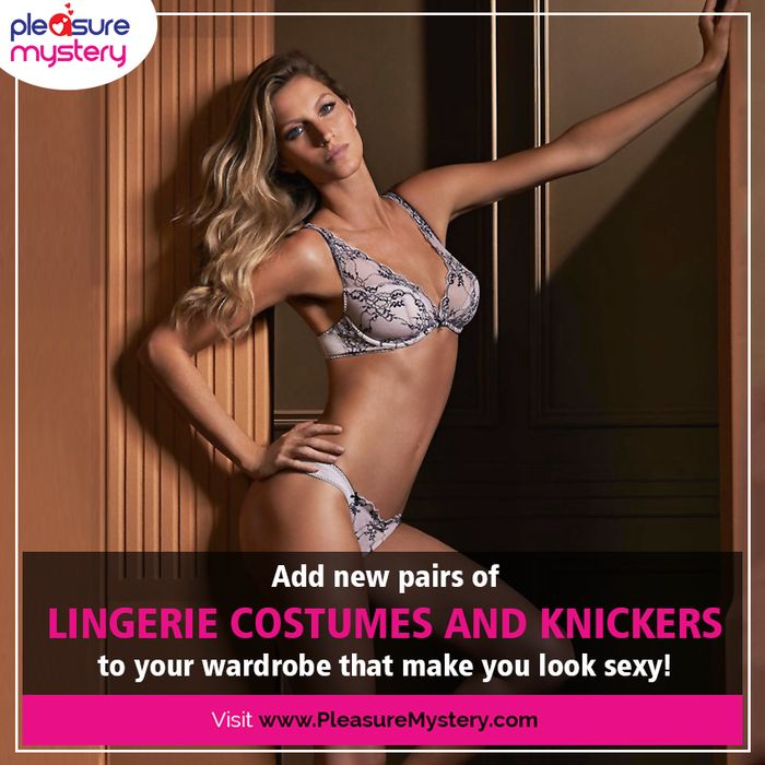 Exclusive range of #sexy #knickers and #costumes to bring excitement to your sex life! Find the alluring range of sex toys at www.PleasureMystery.com #PleasureMystery #UnitedKingdom #SexToys #Online #ShopOnline