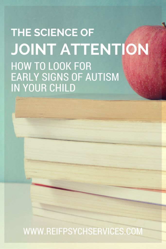 A lack of joint attention is one of the early signs of Autism that can be easily spotted. Learn how in this post.