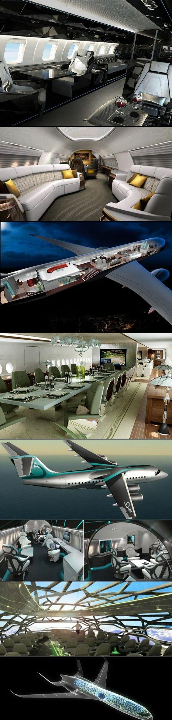 un ambiance de luxe à bord de votre avion privé