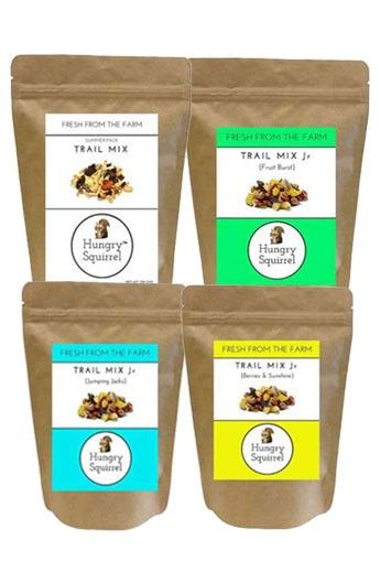 Hungry Squirrel- Dry Fruits & Nuts Combo- Tasty & Healthy Snack Packs for Kids