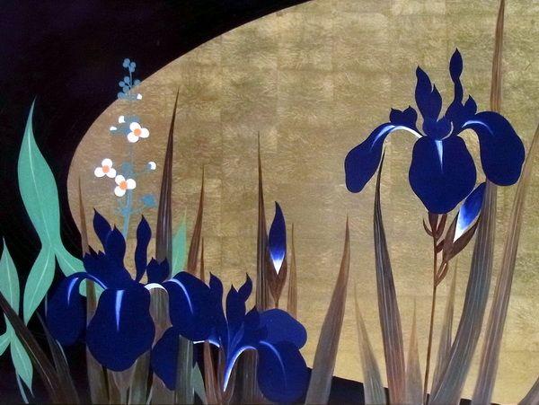 Eurasia Art | Rakuten Global Market: Masterpieces of fine art lacquer painting Sakai hoitsu seasons bird picture book parts