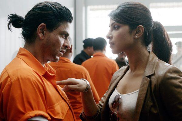 Shahrukh Khan and Priyanka Chopra - Don 2 (2011) Source: yahoo.comSrks Hairstyles, Srk Bollywood, Khan Srk, Srk S Hairstyles