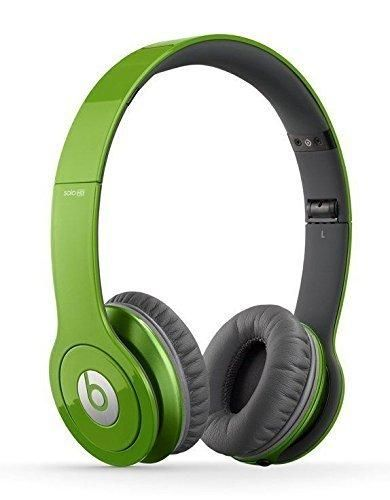Beats Solo HD On-Ear Headphone with Mic & Remote Control Cable (Certified Refurbished) (Green)