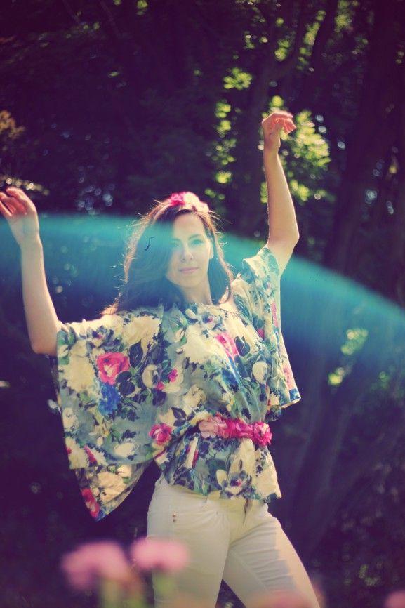 #handmade #flowers #headband #clementineLovee #nymph #strap #dress #belt