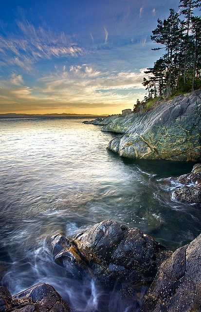 Sheringham Point, Vancouver Island, BC, Canada