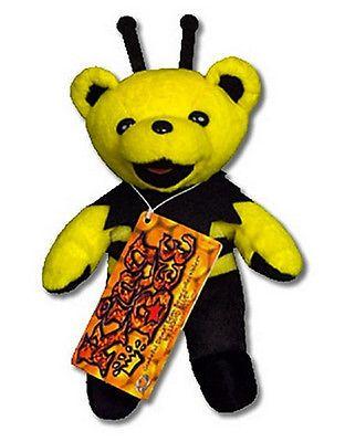 Grateful Dead 1620: Grateful Dead King Bee Bean Bear - Black Antennae Rare!! -> BUY IT NOW ONLY: $48 on eBay!
